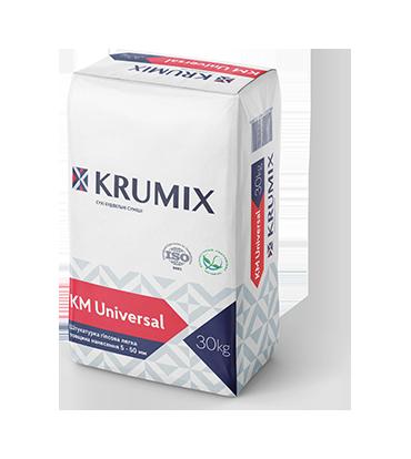 Штукатурка гіпсова легка Krumix KM Universal 30 кг